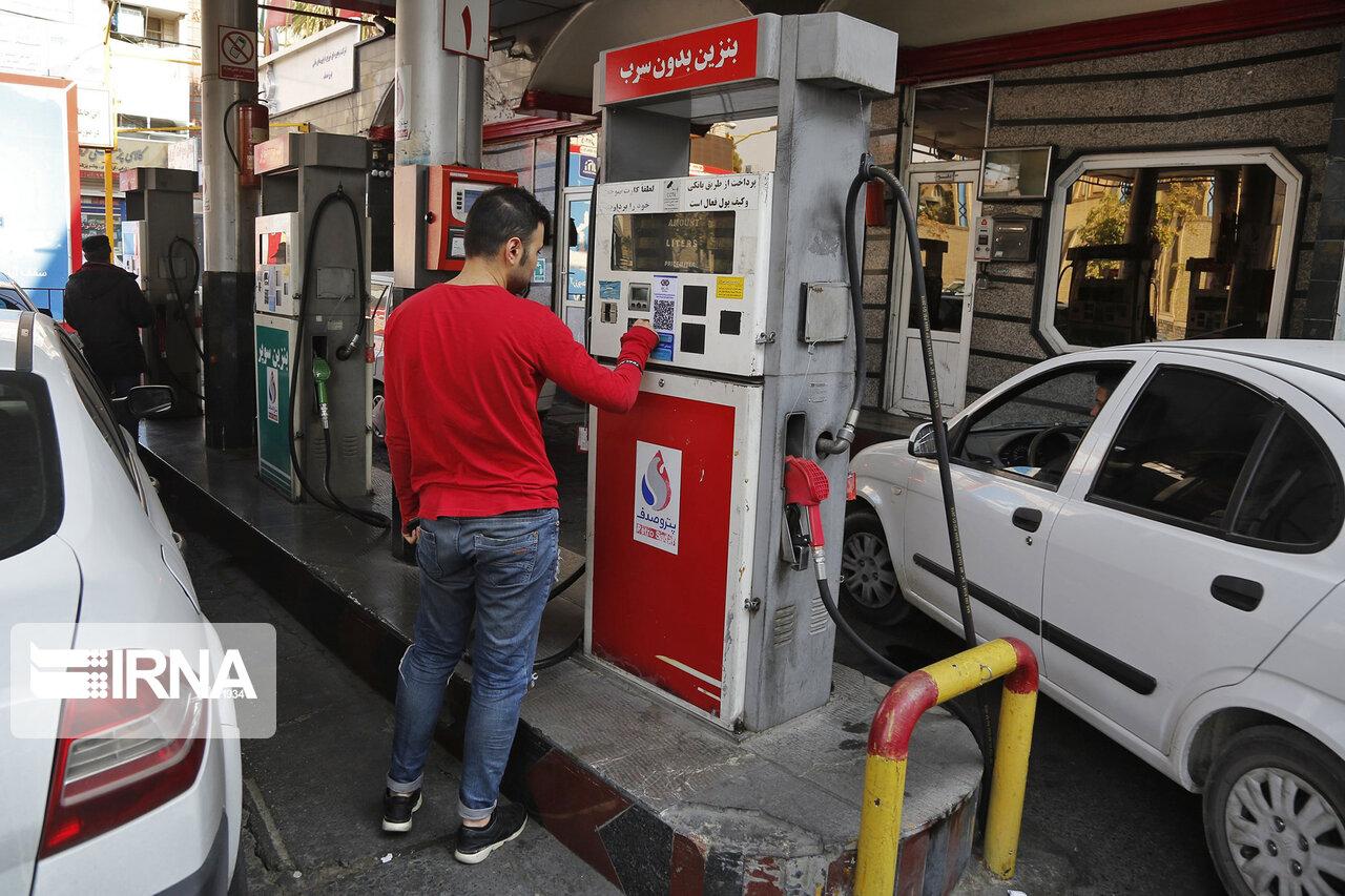 مصرف بنزین در مازندران روزانه ۸۰۰ هزار لیتر کم شد