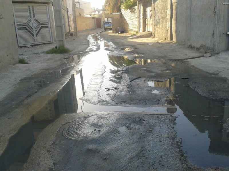 برخورد قضایی با رهاسازی فاضلاب در خیابانهای نوشهر شروع شد