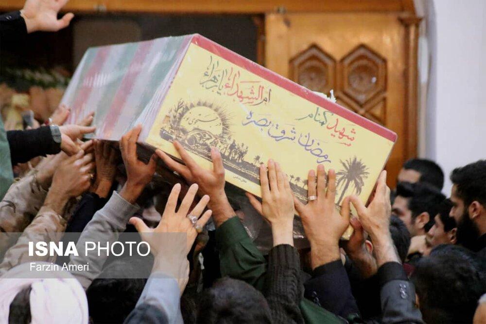 پیکر یک شهید گمنام فردا در رامسر تشییع میشود