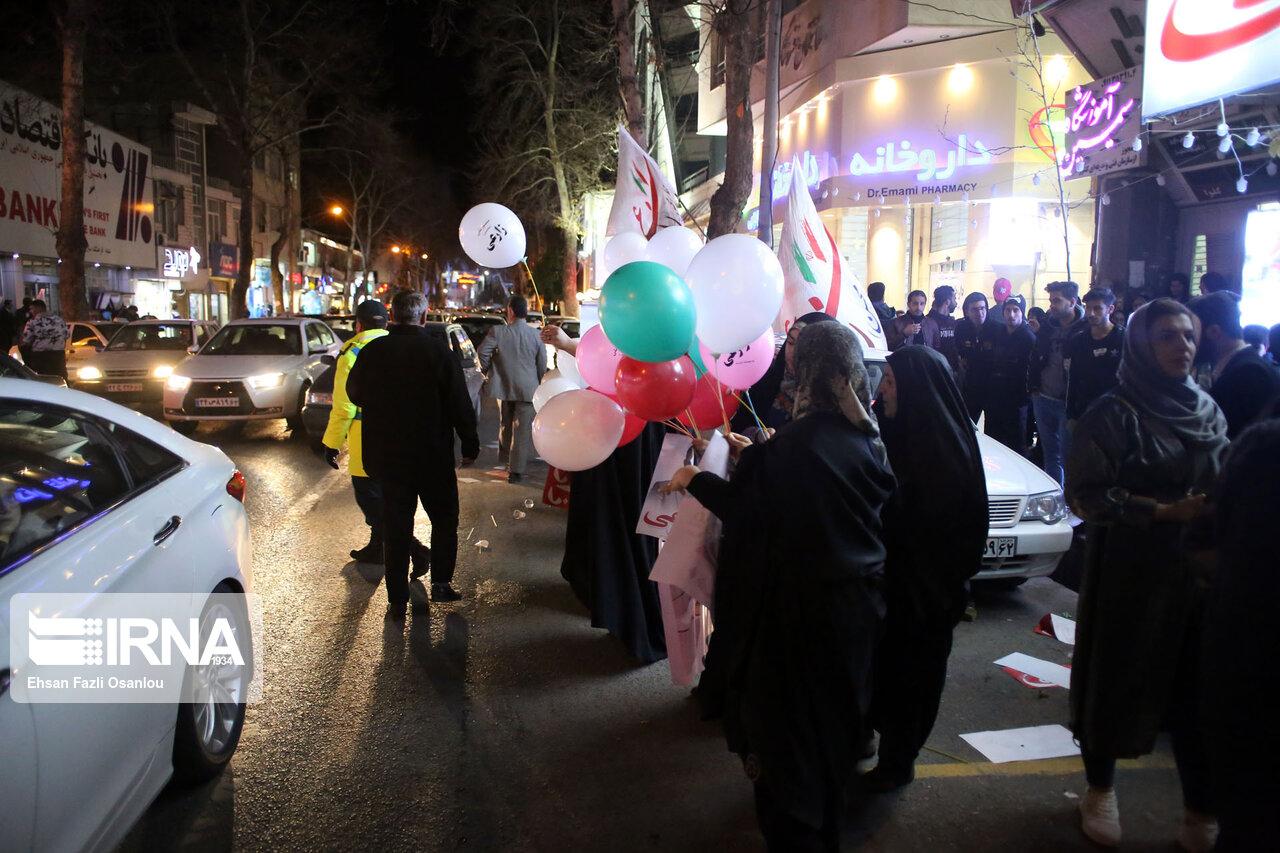تب تبلیغات انتخابات در مازندران بالا گرفت