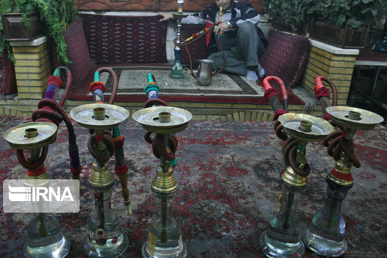 قلیان از قهوه خانههای مازندران جمع میشود