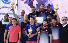 قهرمانی تیم کشتی ساحلی کارگران مازندران در مسابقات قهرمانی کشور