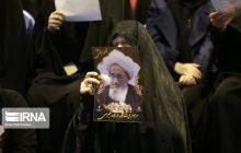 مراسم ترحیم نماینده سابق ولی فقیه در مازندران در ساری برگزار شد