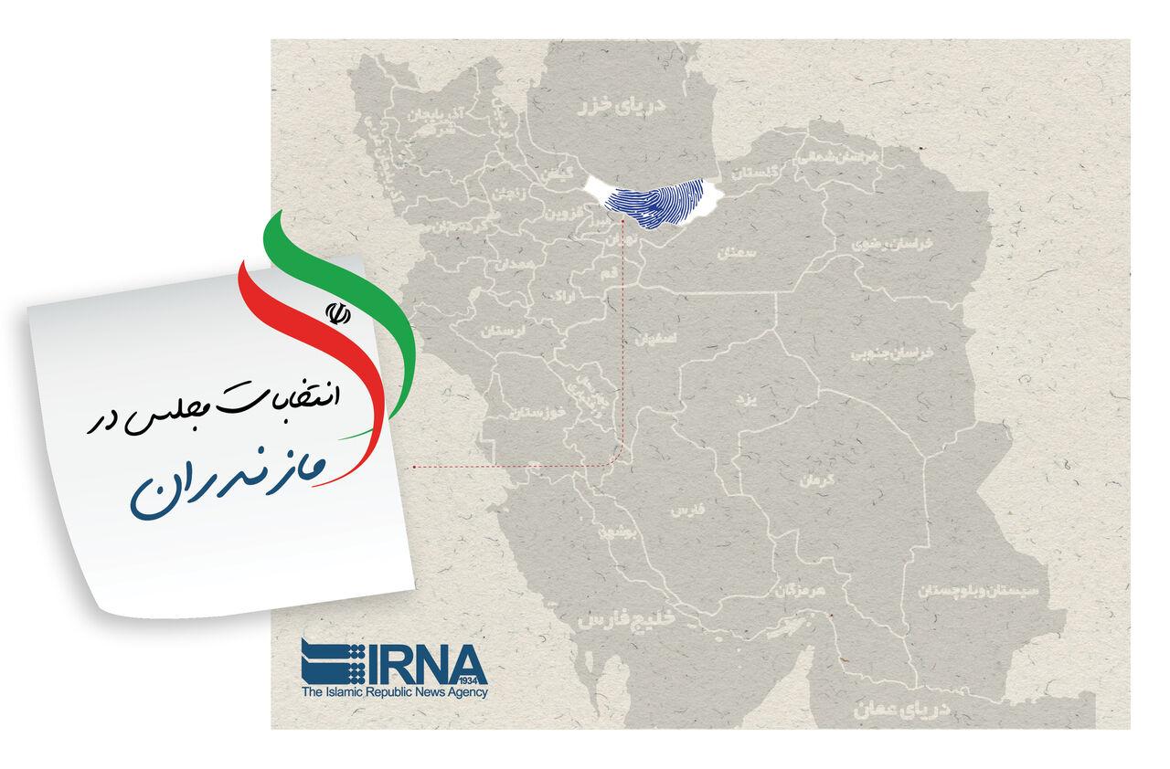 نام ۱۲۸ نامزد به حوزههای انتخابیه مازندران رسید