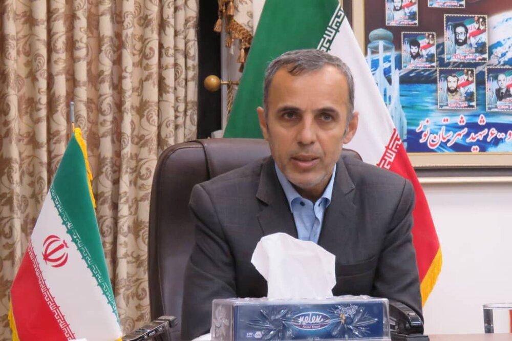 کسب رتبه نخست حوزه نور و محمودآباد با مشارکت ۶۰.۱ درصد در مازندران