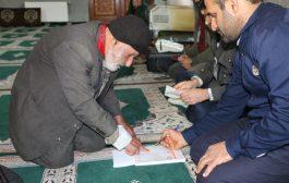 گزارش تصویری برگزاری انتخابات در روستاهای بخش چهاردانگه