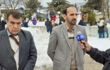 نخستین جشنواره آدم برفی در دبیرستان شبانه روزی زینبیه(س) کیاسر