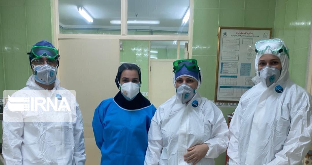 بهبودی ۱۰ بیمار مشکوک به کرونا در مراکز درمانی چالوس