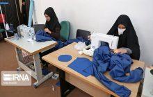 تهیه لباس بیمارستانی در جویبار برای مقابله با ویروس کرونا