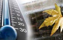 هوای کیاسر بیش از 18 درجه کاهش مییابد