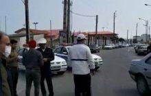 طرح فاصله گذاری اجتماعی باجدیت در مازندران درحال اجرا است