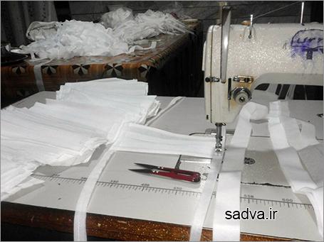 دوخت ۲۶۰ قطعه ماسک توسط بانوان بالادهی برای اهالی بومی منطقه دوسرشمار