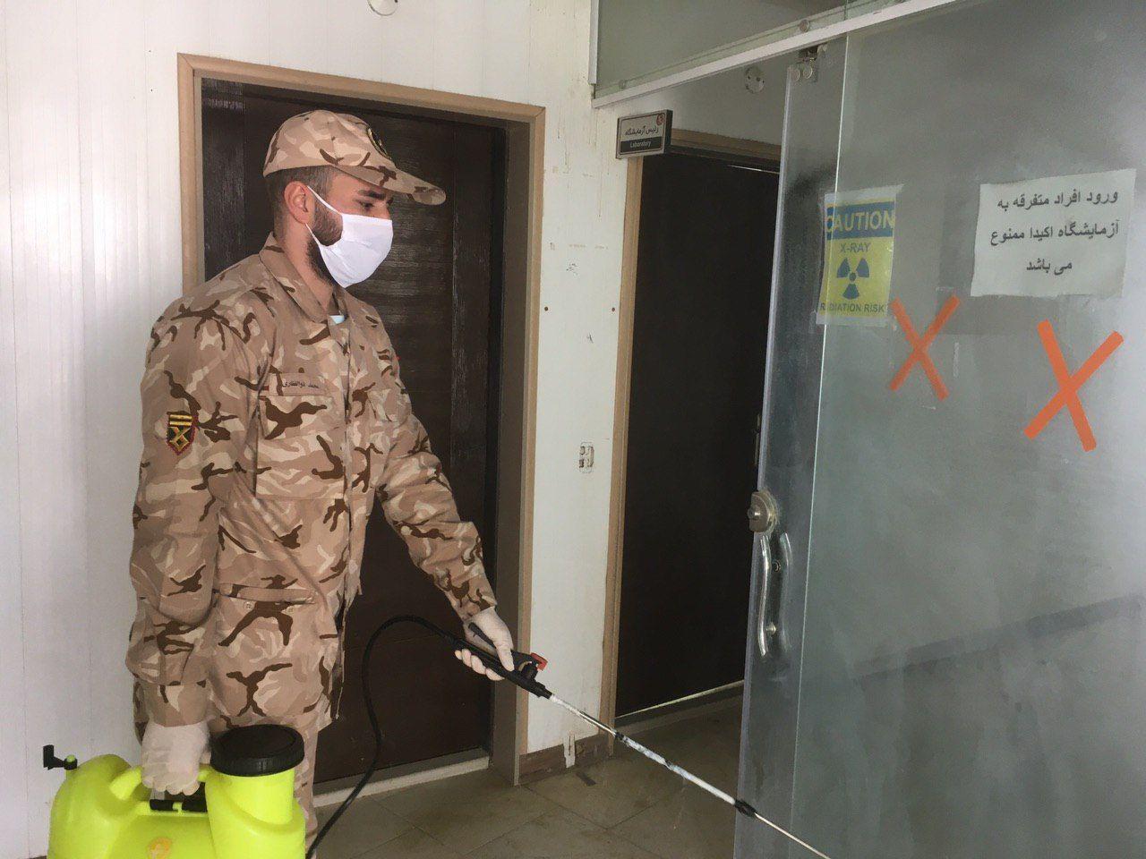 بازدید فرمانده سپاه چهاردانگه از کارخانه سیمان کیاسر