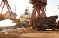 پهلو گرفتن هفتمین کشتی گندم روسیه در بنادر مازندران