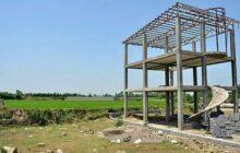 ۱۱ ساخت وساز غیرمجاز در مزارع جویبار قلع و قمع شد