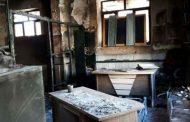 آتش سوزی دبستان انوری کیاسر( شهید خانگاه) در 16 فروردین 1352
