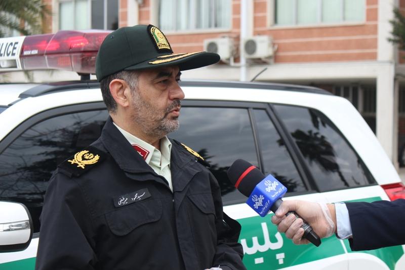سردار فیضی: محدودیت تردد در استان مازندران ادامه دارد
