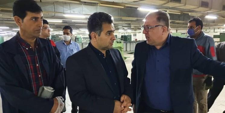 دستور خرید دستگاههای جدید برای افزایش تولید در کارخانه نساجی