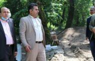 حضور نماینده مجلس بر سر پروژه گردشگری پارک تلار