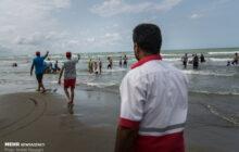 ناجیان در ۳۷۵ نقطه حادثه خیز ساحل مازندران مستقر هستند