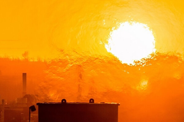 ثبت دمای ۳۹ درجه سانتیگراد در ساری