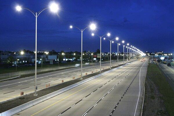 تقاطع های پرتردد مازندران به سیستم روشنایی مجهز می شود