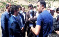 بازدید دکتر بابایی کارنامی از محل دفن زباله در پشتکوه