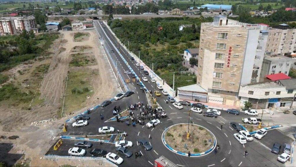 یک پروژه عمرانی شهری در بابل افتتاح شد