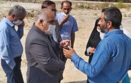 بازدید نمایندگان روستاهای پشتکوه چهاردانگه از زباله سوز ساری