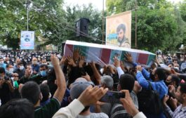 گزارش تصویری: تشییع با شکوه دو شهید مدافع حرم در ساری برگزار شد