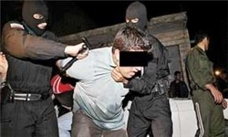 « مجتبی جیکجیک» شرور معروف آمل دستگیر شد