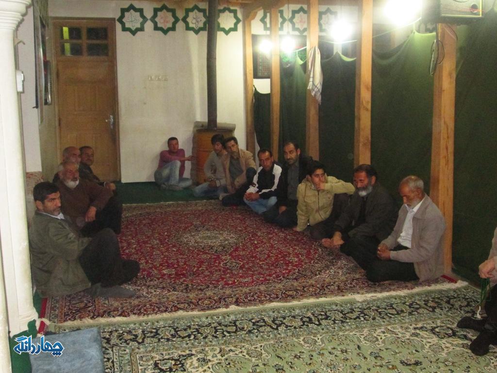 برگزاری نشست بصیرتی بسیجیان روستای چالو + تصاویر