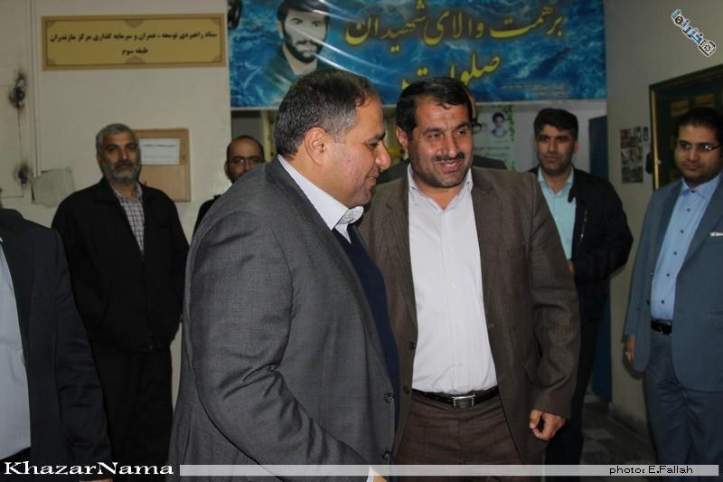 گزارش تصویری از حاشیه مراسم تودیع و معارفه فرماندار ساری