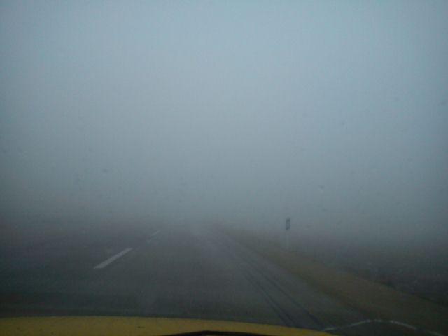 هشدار به رانندگان / جاده های چهاردانگه بارانی،لغزنده و مه آلود است