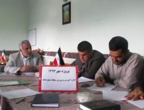 آموزش وپرورش چهاردانگه رتبه عالی استان در پروژه مهر 93