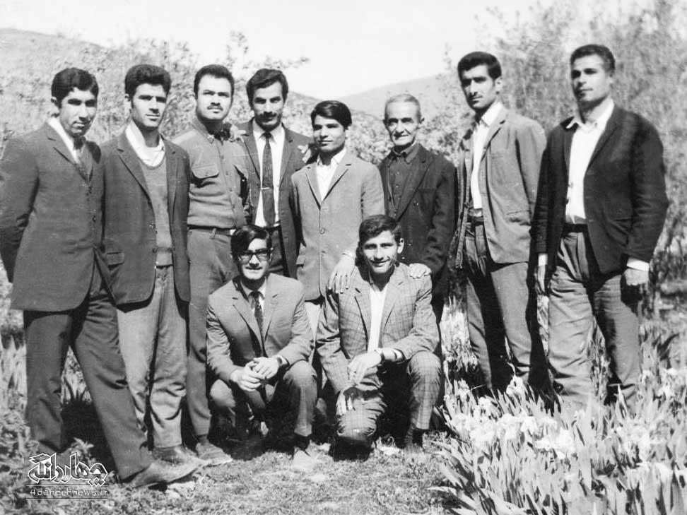 عکس های تاریخی از دبستان انوری کیاسر