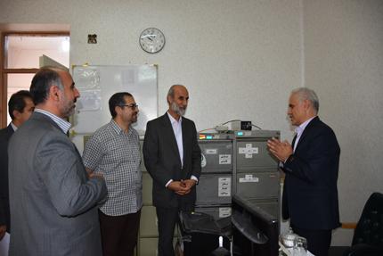 بازدید رئیس سازمان دامپزشکی کشور از کارخانه دی کلسیم فسفات در چهاردانگه