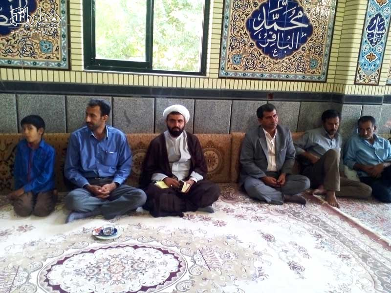 برگزاری مراسم جشن عید غدیر در روستای مزده + تصاویر