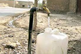 آلودگی آب شرب روستای سنگده دودانگه