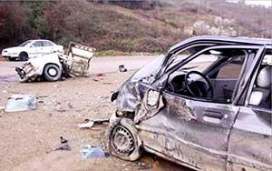 مرگ در جاده کیاسر پرسه می زند!