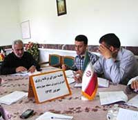 برگزاری جلسه شورای اداری آموزش و پرورش منطقه چهاردانگه