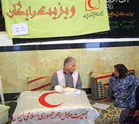 اعزام کاروان سلامت جمعیت هلال احمر مازندران به روستای چالو