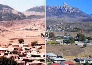 مقایسه ۳۸ ساله  سه روستای دوسرشمار/ وسعت روستاها افزایش ، جمعیت کاهش