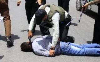 درگیری مسلحانه سارق خودرو با مأموران انتظامی آمل