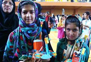 برگزاری مسابقه رباتیک استانی با حضور دو دانش آموز کیاسری