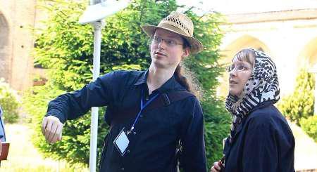 دانشجویان آلمانی از آثار تاریخی ساری بازدید کردند
