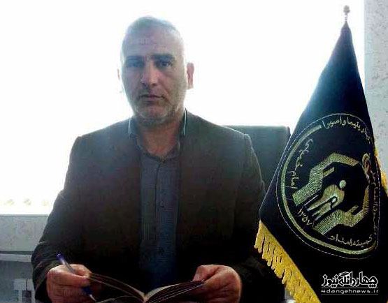 گفتگو با سعیدی رییس کمیته امداد امام خمینی(ره) چهاردانگه