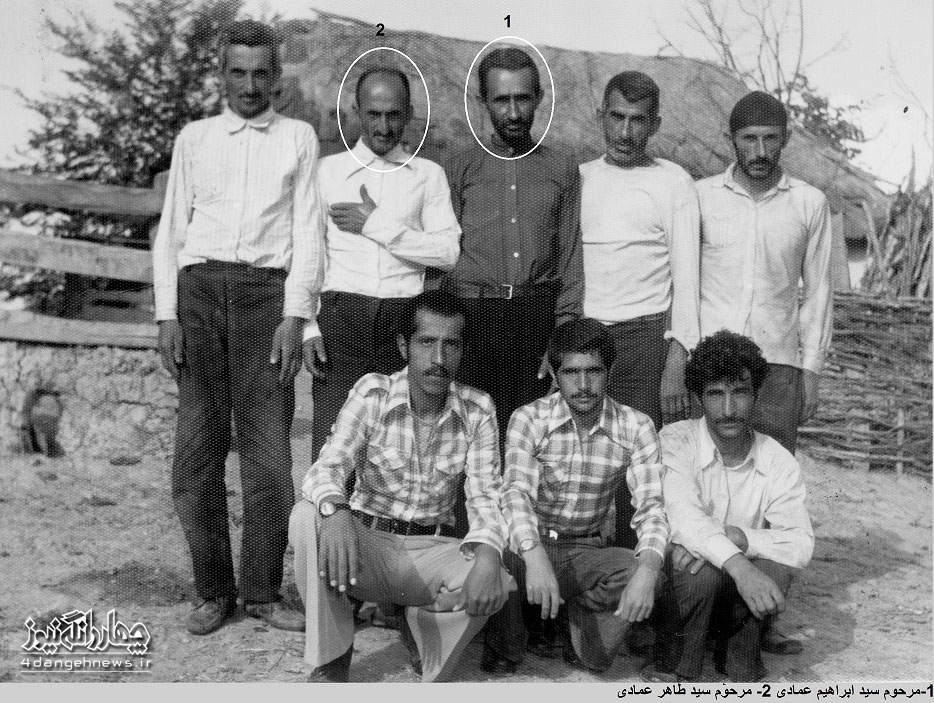 تصاویری خاطره انگیز وبه یاد ماندنی از اهالی روستای سرخ ولیک