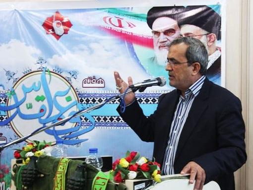 بغض سردار شمشیربند در یادواره شهدای شهرداری ساری ترکید