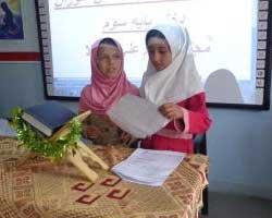 برگزاری جشن تکلیف دانش آموزان دختر مدارس مجتمع امام علی (ع)